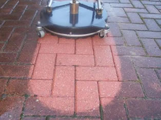 Pressure washing services in Cumbria