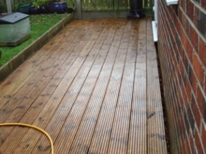 Decking Cleaning & Staining Carlisle