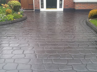Imprinted Concrete Cleaning and Sealing Cumbria