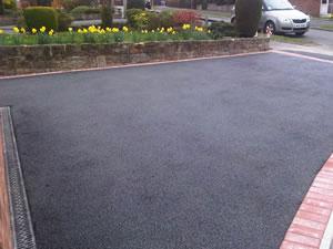 Tarmacadam driveways Cumbria