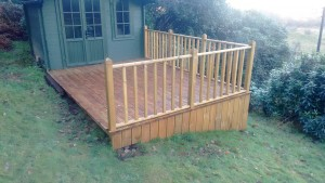 Decking in Cumbria