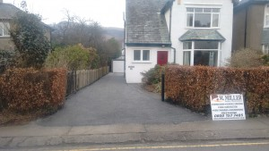 Driveway Surface dressing in Keswick and Cumbria