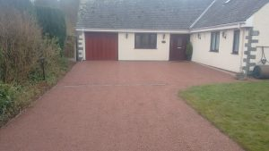 Resin driveways Cumbria