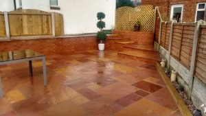 Indian Sandstone Patio Cleaning Carlisle