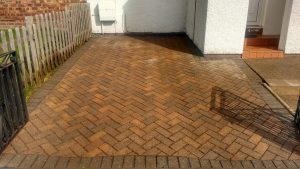 After Professional Driveway Cleaning Cumbria
