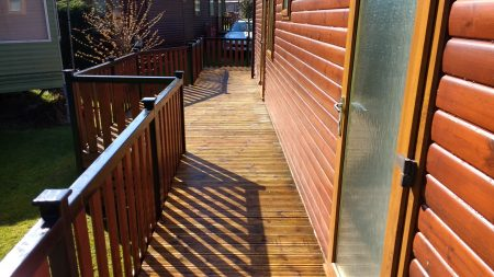 After Decking Cleaning