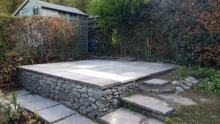 Patio lifting and relaying Cumbria