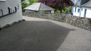 Driveway installed Keswick on behalf of Edwin Thompson M. Miller Surface Maintenance Cumbria