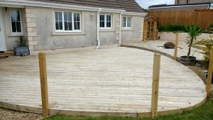 Decking Cleaning Beckermet
