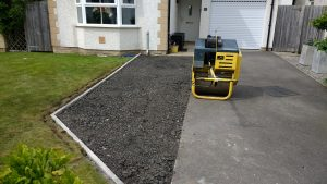 Kerb laying Cockermouth
