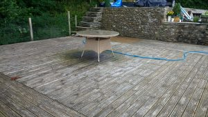 Before Deteriated Decking