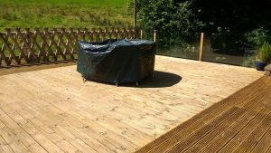 After Deck Cleaning New Hutton