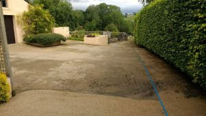 Resin Driveway During Cleaning Hesket Newmarket