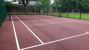 After Tennis Court Cleaning Gosforth