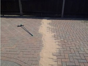 Block Paving Cleaning and Re-sanding Cumbria