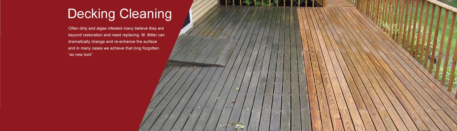 Decking Cleaning Cumbria