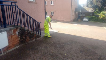 Commercial Carpark Power Washing Penrith