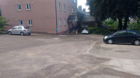 Commercial Carpark Pressure Washing
