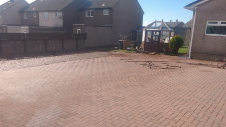 After Driveway Clean Whitehaven