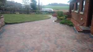 Paved Patio Cleaning