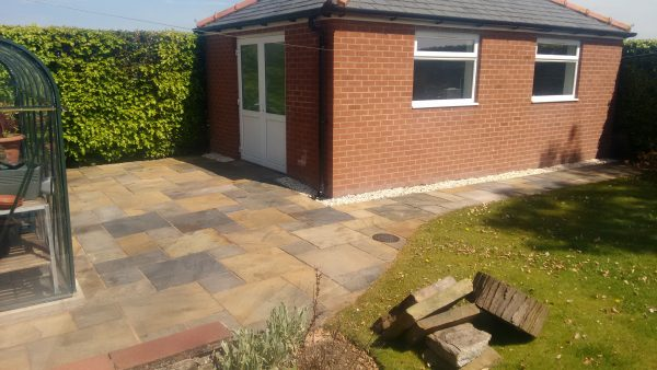 Patio Re-Pointing & Sealing