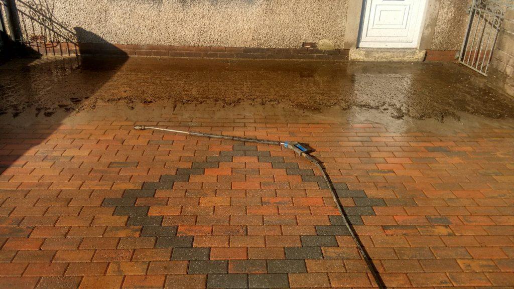 Block Paving Pressure Cleaning Carlisle Cumbria, Paving Sealing