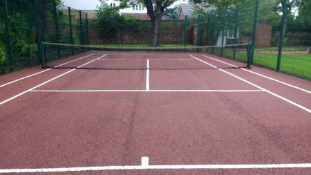 After Tennis Court Maintenance Gosforth