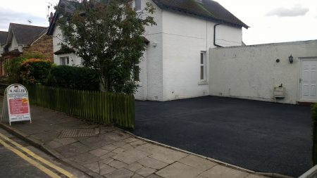 Tarmac driveway installed in the Scottish borders by M. Miller Surface Maintenance call for a free quote