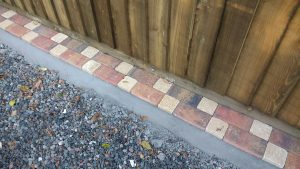 Block paved edging professionally installed prior to good quality tarmac Penrith
