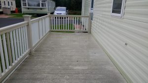 Compesite Decking Before
