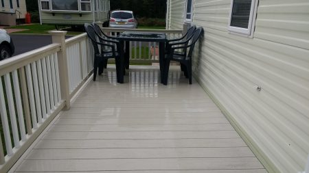 Compesite Decking After Cleaning Silloth