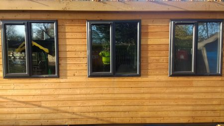 Cladding after Cleaning & Oiling
