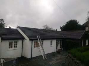 Before Roof Cleaning in The Lakes
