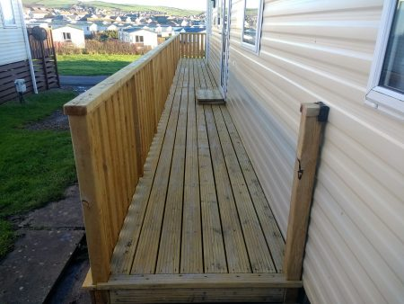 Decking Cleaning Seacote Park Whitehaven