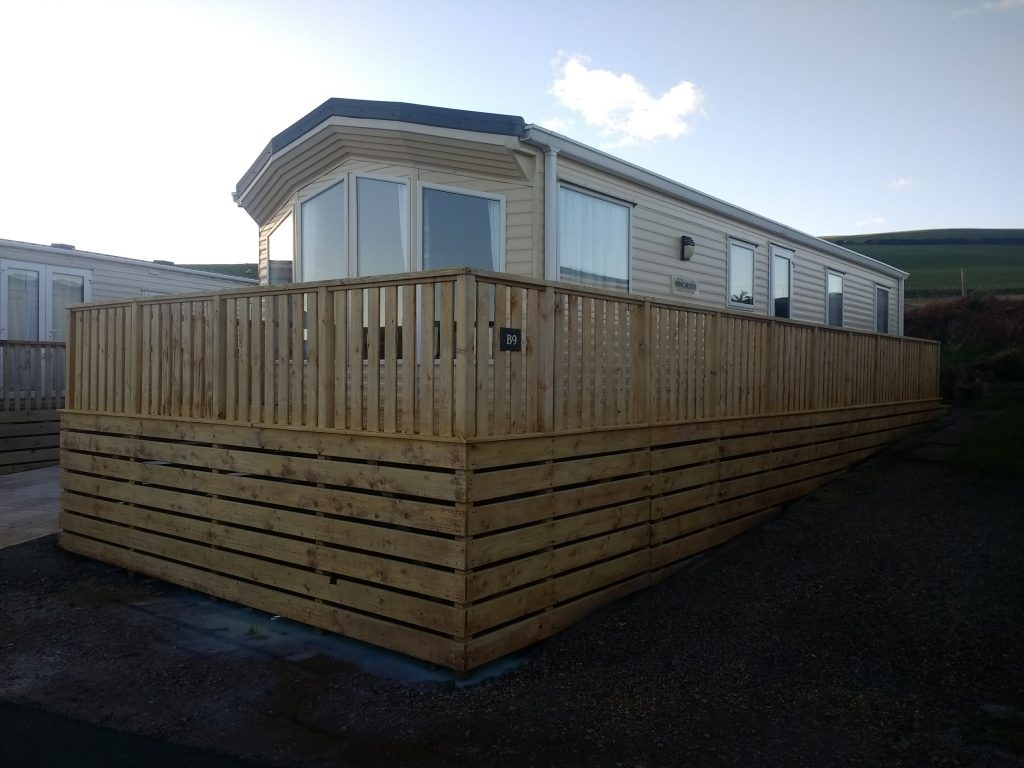 After Decking Cleaning & Oiling Whitehaven