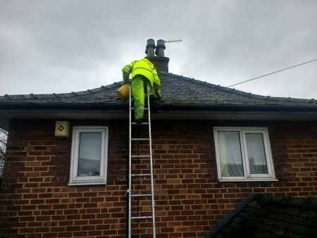 Roof Cleaning & Moss Removal Cumbria