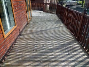 Decking After Cleaning White Cross Bay