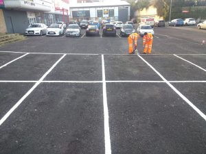 Thermoplastic road markings Carlisle