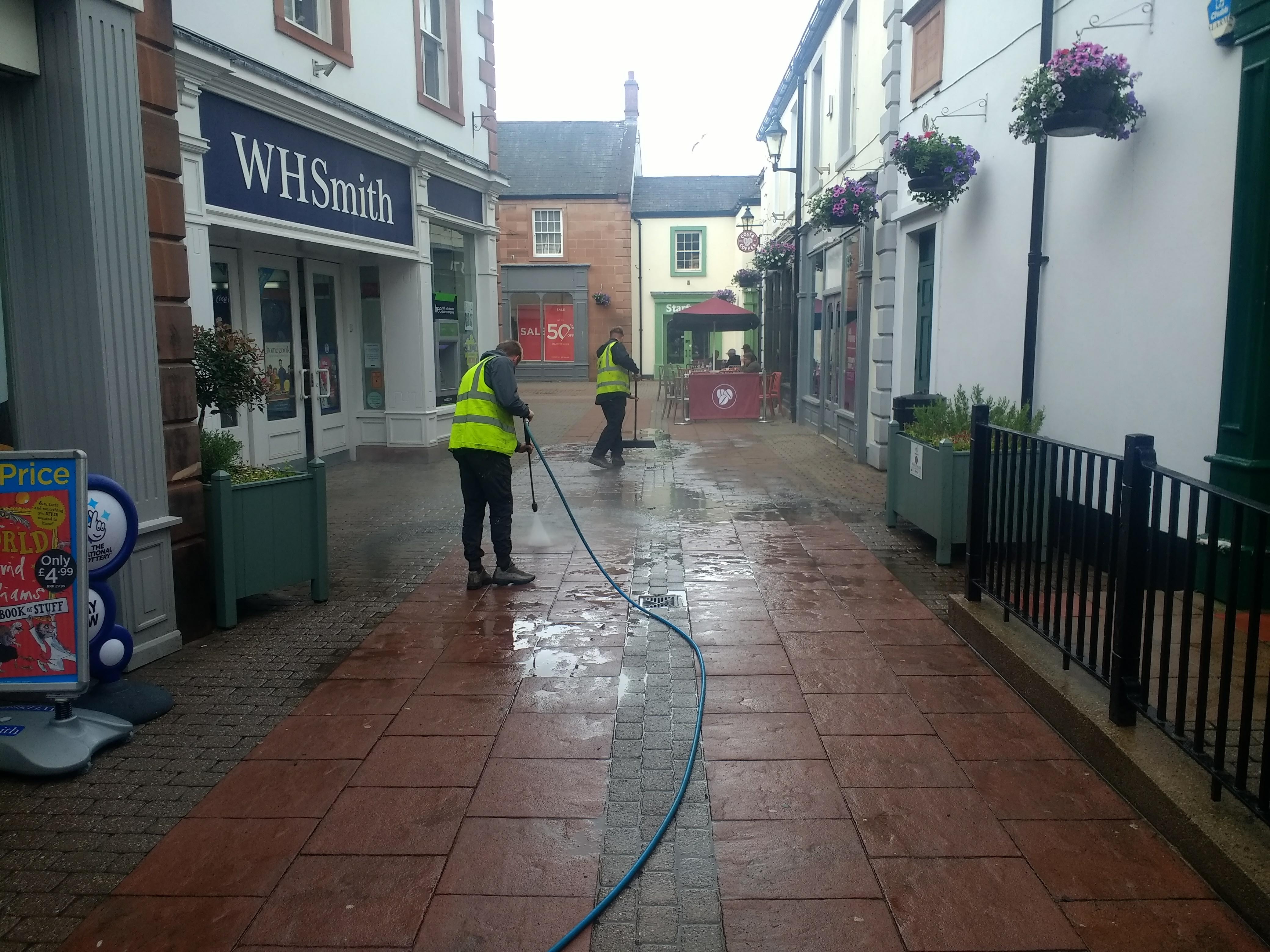 Pressure Cleaning Commercial Amp Domestic M Miller
