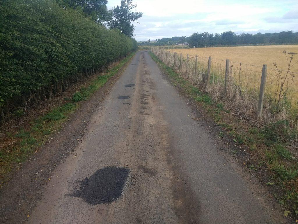 Tarmac patching Dumfriesshire