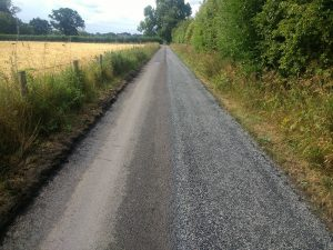 Surface Dressing in The Scottish Borders