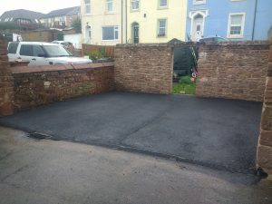 Tar roads in Workington and Whitehaven