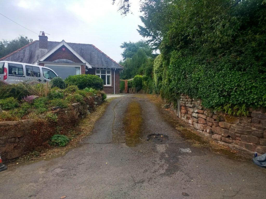 Before driveway Carlisle