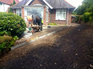 Groundworks and kerbed edgings installed Carlisle