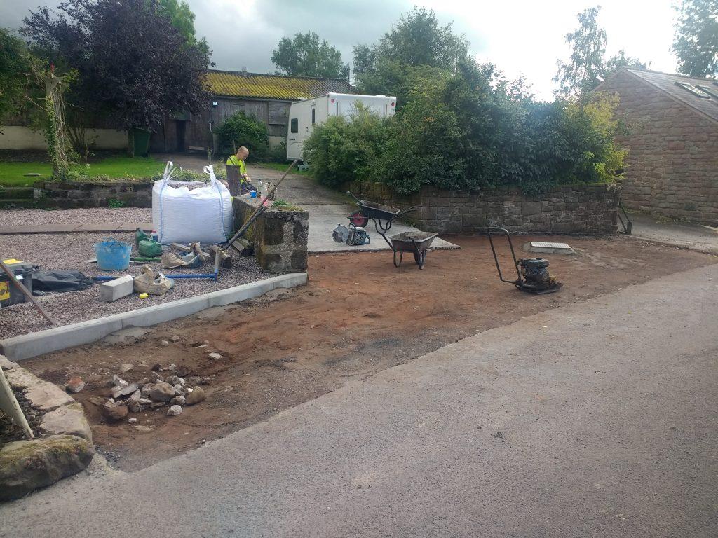 Tarmac repairs Hexham